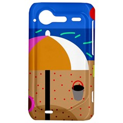 On the beach  HTC Incredible S Hardshell Case