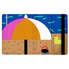 On the beach  Apple iPad 2 Flip Case