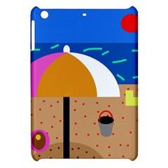 On the beach  Apple iPad Mini Hardshell Case