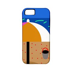 On the beach  Apple iPhone 5 Classic Hardshell Case (PC+Silicone)