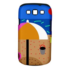 On the beach  Samsung Galaxy S III Classic Hardshell Case (PC+Silicone)