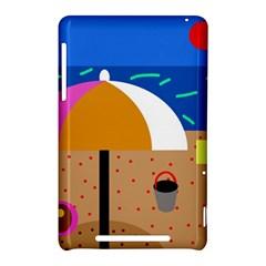 On the beach  Nexus 7 (2012)