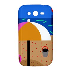 On the beach  Samsung Galaxy Grand DUOS I9082 Hardshell Case