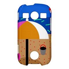 On the beach  Samsung Galaxy S7710 Xcover 2 Hardshell Case