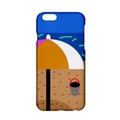 On the beach  Apple iPhone 6/6S Hardshell Case