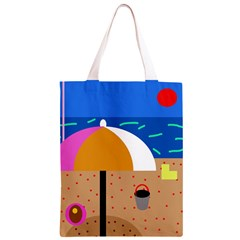 On the beach  Classic Light Tote Bag