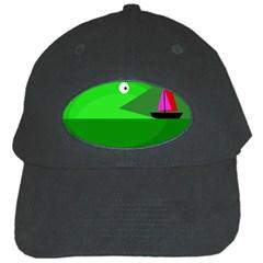 Green monster fish Black Cap