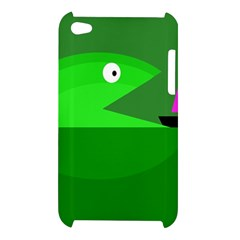 Green monster fish Apple iPod Touch 4