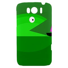 Green monster fish HTC Sensation XL Hardshell Case