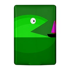 Green monster fish Kindle 4