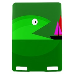 Green monster fish Kindle Touch 3G