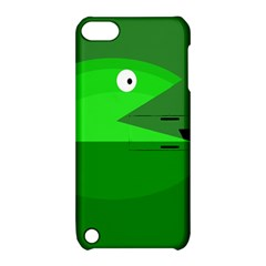 Green monster fish Apple iPod Touch 5 Hardshell Case with Stand