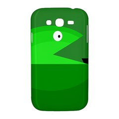 Green monster fish Samsung Galaxy Grand DUOS I9082 Hardshell Case