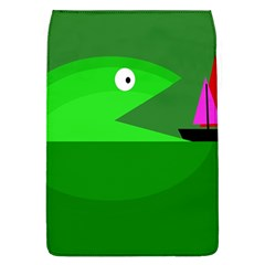 Green monster fish Flap Covers (L)