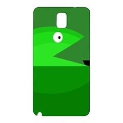 Green monster fish Samsung Galaxy Note 3 N9005 Hardshell Back Case