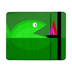Green monster fish Samsung Galaxy Tab Pro 8.4  Flip Case