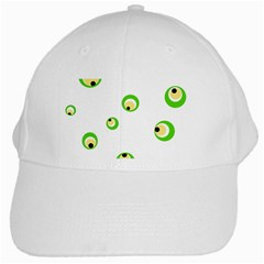 Green Eyes White Cap