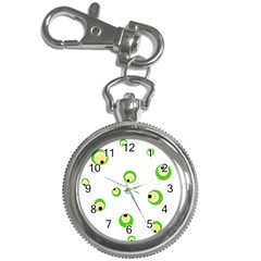 Green eyes Key Chain Watches