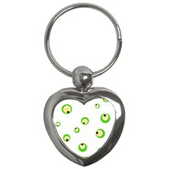 Green eyes Key Chains (Heart)