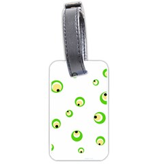 Green eyes Luggage Tags (One Side)