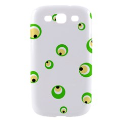 Green eyes Samsung Galaxy S III Hardshell Case