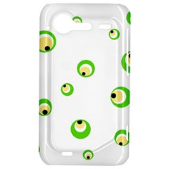 Green eyes HTC Incredible S Hardshell Case