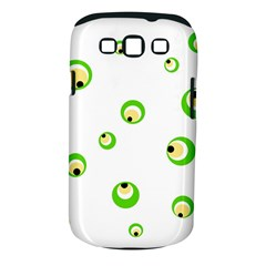Green eyes Samsung Galaxy S III Classic Hardshell Case (PC+Silicone)
