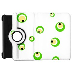 Green eyes Kindle Fire HD Flip 360 Case