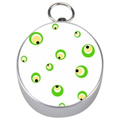 Green eyes Silver Compasses