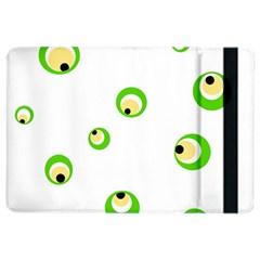 Green eyes iPad Air 2 Flip