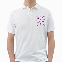 Purple eyes Golf Shirts