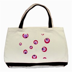 Purple eyes Basic Tote Bag (Two Sides)