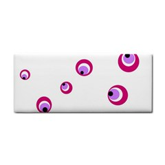 Purple Eyes Hand Towel
