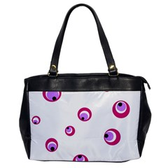 Purple eyes Office Handbags