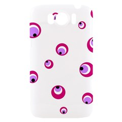 Purple eyes HTC Sensation XL Hardshell Case