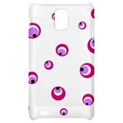 Purple eyes Samsung Infuse 4G Hardshell Case