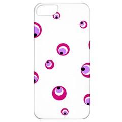 Purple eyes Apple iPhone 5 Classic Hardshell Case