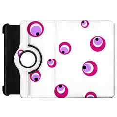 Purple eyes Kindle Fire HD Flip 360 Case