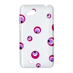 Purple eyes HTC Desire VC (T328D) Hardshell Case
