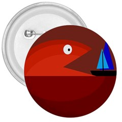 Red monster fish 3  Buttons
