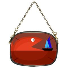 Red monster fish Chain Purses (Two Sides)