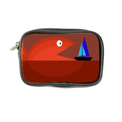 Red monster fish Coin Purse