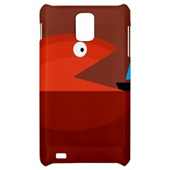 Red monster fish Samsung Infuse 4G Hardshell Case