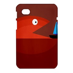 Red monster fish Samsung Galaxy Tab 7  P1000 Hardshell Case