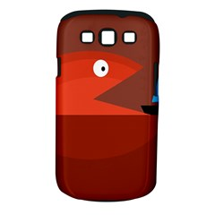 Red monster fish Samsung Galaxy S III Classic Hardshell Case (PC+Silicone)