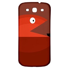 Red monster fish Samsung Galaxy S3 S III Classic Hardshell Back Case