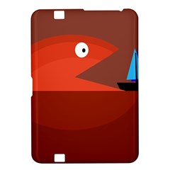 Red monster fish Kindle Fire HD 8.9