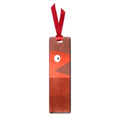 Red monster fish Small Book Marks
