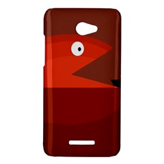 Red monster fish HTC Butterfly X920E Hardshell Case