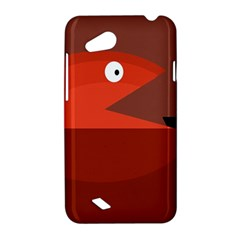 Red monster fish HTC Desire VC (T328D) Hardshell Case
